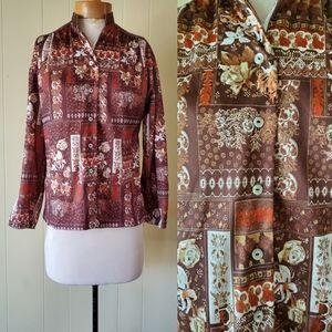 Vintage 1970s blouse size s/m